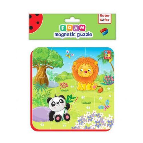 Puzzle, Miękkie magnetyczne puzzle Lew i Panda