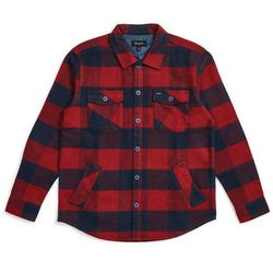 koszula BRIXTON - Durham L/S Flannel Navy/Red (NVRED) rozmiar: L