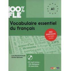 100% FLE Vocabulaire essentiel du français A1 + CD - Mensdorff Lucie, Spérandio Caroline (opr. miękka)
