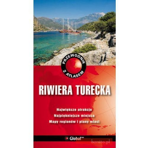 Przewodniki turystyczne, Przewodnik z atlasem Riwiera Turecka (opr. miękka)