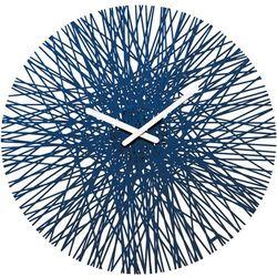 Zegar ścienny Silk welwetowy błękit