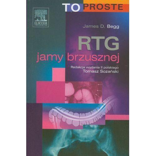 Książki medyczne, RTG jamy brzusznej. Seria To Proste (opr. broszurowa)