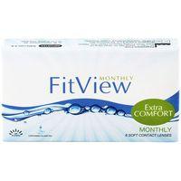 Soczewki kontaktowe, FitView Monthly 6 szt.