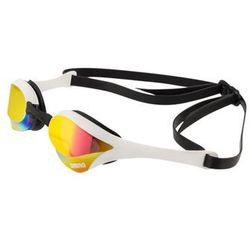arena Cobra Ultra Mirror Okulary pływackie żółty/czarny Okulary do pływania