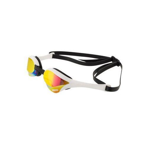 Okularki pływackie, arena Cobra Ultra Mirror Okulary pływackie żółty/czarny Okulary do pływania