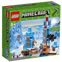 Klocki dla dzieci, LEGO Minecraft, Lodowe kolce, 21131