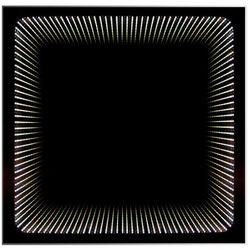 Lustro z oświetleniem LED WENECJA 49x49 cm