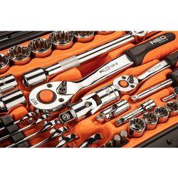 Zestaw kluczy nasadowych NEO 08-690 (71 elementów)