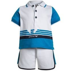Armani Junior BABY BELOW SET Szorty turchese