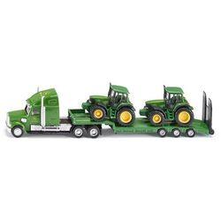 Siku Farmer 1837 Ciężarówka z naczepą +2 traktory 1:87