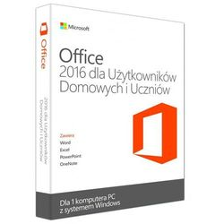 Microsoft Office Home and Students 2016 PL ESD
