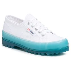 Trapery SUPERGA - 2555 Alpina Jellygum Cotu S1115LW White/Blue Lt Crystal A0E
