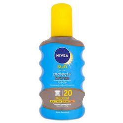 Nivea Sun Protect & Bronze Oil Spray SPF20 200ml W Opalanie