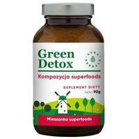 Detox i oczyszanie organizmu, Green Detox - koktajl oczyszczający (180 g) Aura Herbals