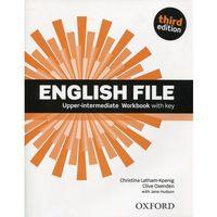 Książki do nauki języka, English File Upper-inter.3ed.WB with key (opr. broszurowa)