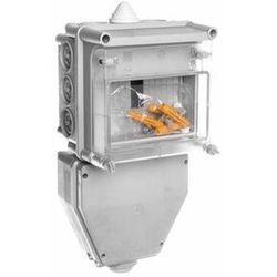 Skrzynka zabezpieczeniowa kablowa SWKI-3 40A z listwą TH35 9653-100
