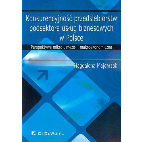 Biblioteka biznesu, Konkurencyjność przedsiębiorstw podsektora usług biznesowych w Polsce (opr. miękka)