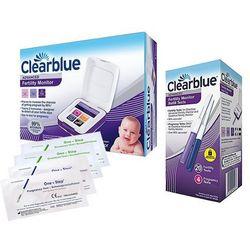 CLEARBLUE monitor płodności + testy 20+4 +4p