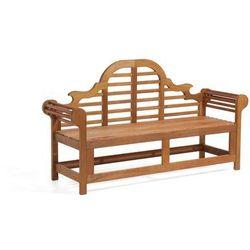 Drewniana ławka ogrodowa 180 cm JAVA Marlboro Darmowa wysyłka i zwroty