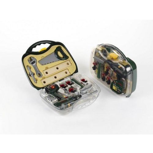 Skrzynki i walizki do majsterkowania, Walizka Bosch z wkrętarką i narzędziami - DARMOWA DOSTAWA OD 199 ZŁ!!!
