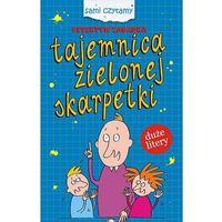Książki dla dzieci, Sami czytamy. Detektyw Zagadka. Tajemnica zielonej skarpetki (opr. twarda)