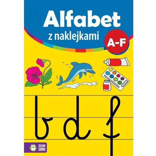 Naklejki, Alfabet z naklejkami A-F