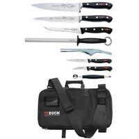 Pozostała gastronomia, Zestaw noży 8 elementów | 48x25x8cm