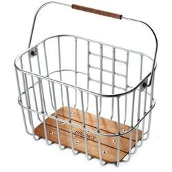 Brooks Hoxton Koszyk rowerowy beżowy/srebrny Kosze rowerowe na kierownicę Przy złożeniu zamówienia do godziny 16 ( od Pon. do Pt., wszystkie metody płatności z wyjątkiem przelewu bankowego), wysyłka odbędzie się tego samego dnia.