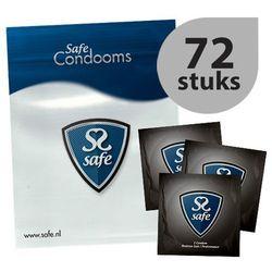 Prezerwatywy opóźniające - Safe Performance Condoms 72 szt