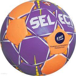 Piłka ręczna Select MUNDO junior 2 fioletowo- pomarańczowa