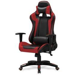 Champion fotel gamingowy dla graczy czarno-czerwony