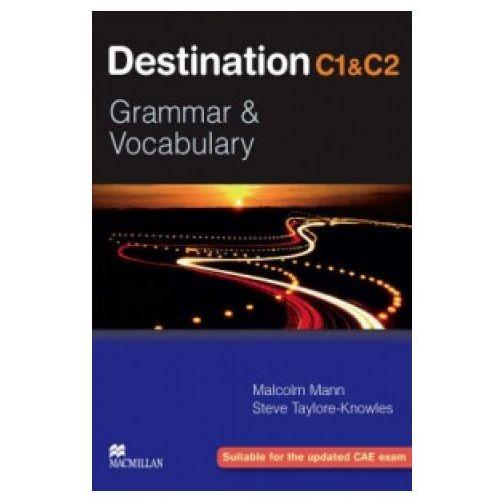 Książki do nauki języka, Destination C1&C2 Grammar & Vocabulary Student's Book (podręcznik) without Key (opr. miękka)
