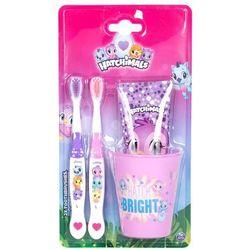 Hatchimals Hatchimals zestaw Szczoteczka do zębów 2 szt + Pasta do zębów 75 ml + Kubeczek na szczoteczki dla dzieci