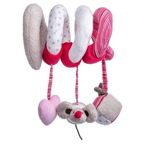 Pluszaki pozostałe, Spirala na łóżko - różowa andżelika