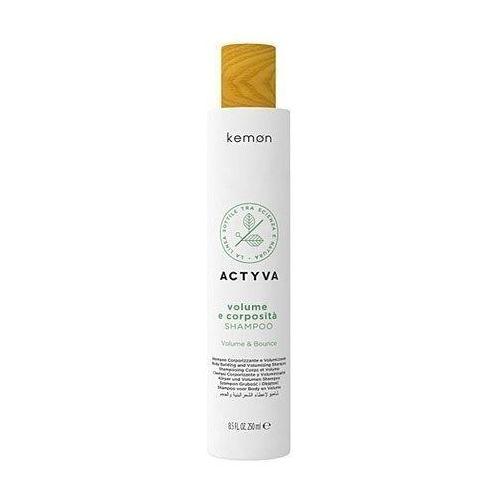 Mycie włosów, Kemon ACTYVA Volume E Corposita, szampon dodający objętość 250ml