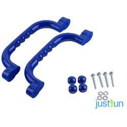 Zestaw rączek 240x75 mm - niebieski