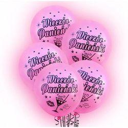 Balony lateksowe świecące Wieczór Panieński - 30 cm - 5 szt.