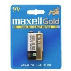 Maxell Bateria alkaliczna 6LR61 9V 1szt. (723761.04.EU) Darmowy odbiór w 21 miastach!