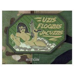 Naszywka Mil-Spec Monkey Uzis Floozies Jacuzzis PVC Multicam