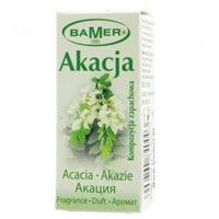 Olejki zapachowe, Olejek zapachowy naturalny Akacja 7 ml BAMER
