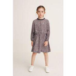 Mango Kids - Sukienka dziecięca Leopard 110-152 cm