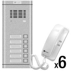 Zestaw domofonowy 6 rodzinny WL-02NE-6