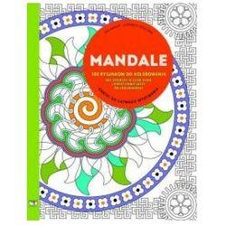 Mandale 100 rysunków do kolorowania + zakładka do książki GRATIS