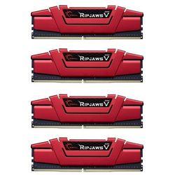 Pamięć G.Skill Ripjaws V DDR4, 16GB (4GBx4), 3000MHz, CL15, 1.35V (F4-3000C15Q-16GVR) Darmowy odbiór w 21 miastach!