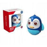 Pozostałe zabawki dla najmłodszych, Askato Wanka wstanka niebieski pingwinek
