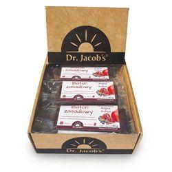 Baton Zasadowy opakowanie 20 sztuk - Proteiny, magnez, potas, cynk, witamina B12 - DR. JACOB'S