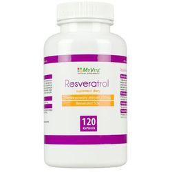 Resveratrol standaryzowany ekstrakt 250mg (50% resveratrolu) (MyVita) 120 kaps.