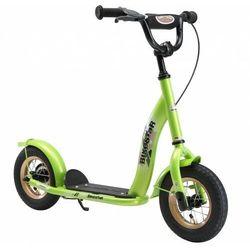 """Hulajnoga dla dzieci pompowane koła 10"""" BikeStar kolor zielony"""