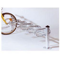 """Stojak rowerowy typu """"Merkury"""" jednostronny - 6 stanowisk, powierzchnia ocynkowana ogniowo"""