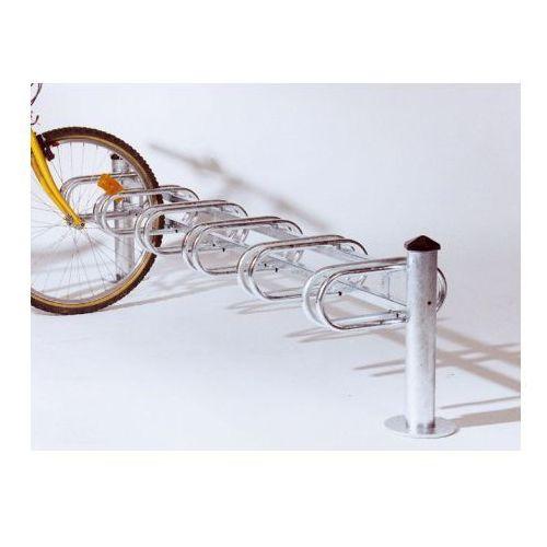 """Pozostała odzież robocza i BHP, Stojak rowerowy typu """"Merkury"""" jednostronny - 6 stanowisk, powierzchnia ocynkowana ogniowo"""